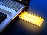 Svítící USB