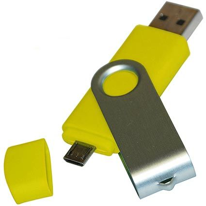 Dvojitý USB flash disk