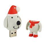 Vánoční USB pes