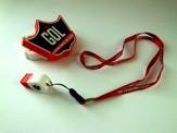 USB znak s píšťalkou